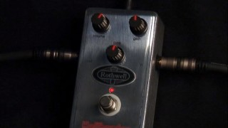 Rothwell Hellbender overdrive pedal from 440 Distribution.