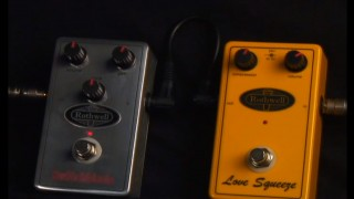Rothwell Love Squeeze compressor pedal from 440 Distribution.