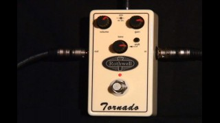 Rothwell Tornado overdrive pedal from 440 Distribution.