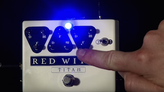 Demo of the Red Witch Titan delay effects pedal