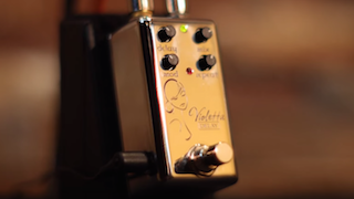 The Violetta Delay guitar effect pedal from Red Witch