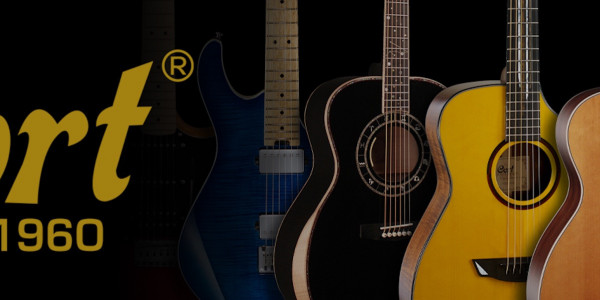 Cort guitars from the UK's leading guitar distributor, 440 Distribution.