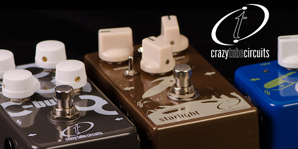 Crazy Tube Circuits effects pedals from UK guitar distributor, 440 Distribution.