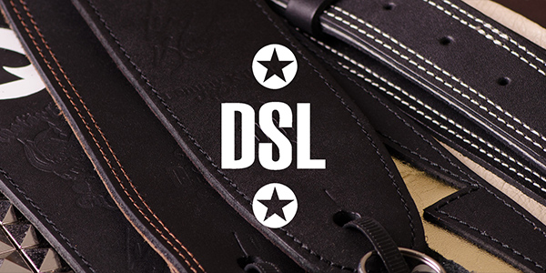 DSL guitar and bass straps, hand-crafted in Australia and available in the UK from 440 Distribution.