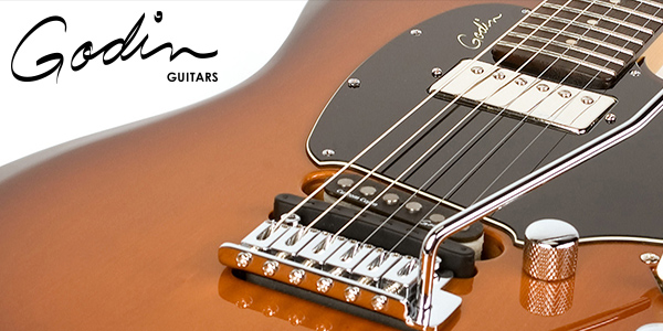 Godin guitars, made in Canada by craftsmen and available in the UK and Ireland from 440 Distribution.
