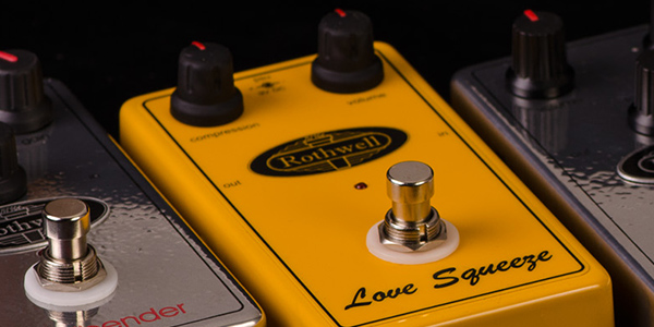 Rothwell effects pedals from specialist guitar distributor 440 Distribution.