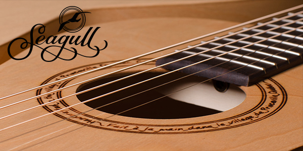 Seagull acoustic guitars by Godin, available in the UK and Ireland from 440 Distribution.