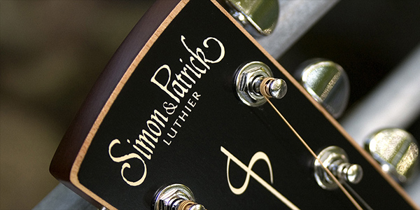 Simon & Patrick acoustic guitars by Godin, distributed in the UK and Ireland by 440 Distribution.